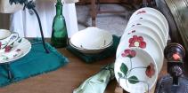 Vintage-Handpainted-Dish-Plate